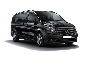 7 seater minibus for airport transfers
